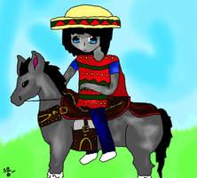 On A Donkey