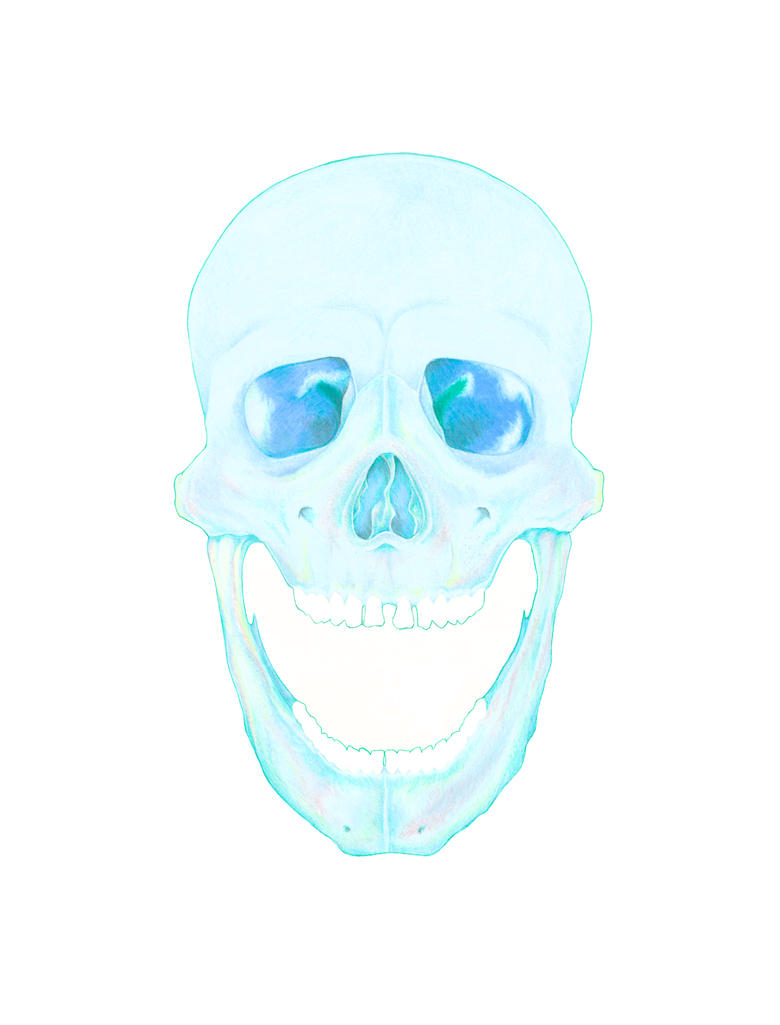 Pastel Skull by BrizzleC
