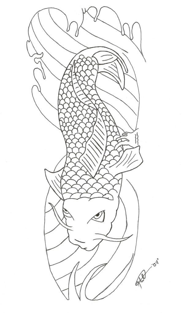 Koi Sleeve - sleeve tattoo