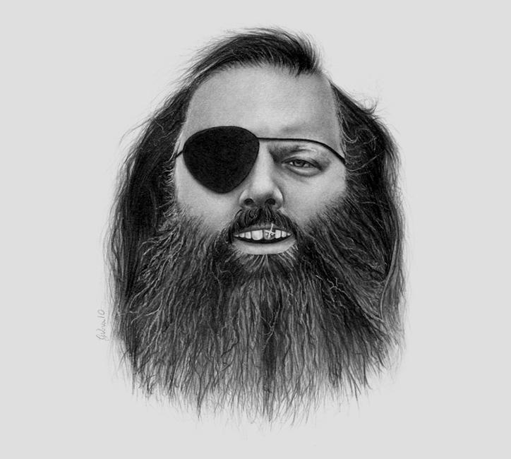 Slick Rick Rubin by GeeeO