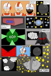 Starwars graphic novel Death Star