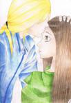 Little kiss by dianadu