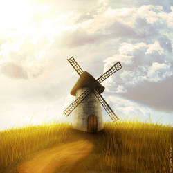 Windmill by ArtemWolf
