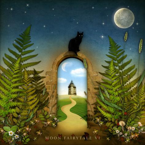 Moon Fairytale VI by agnieszkaszuba