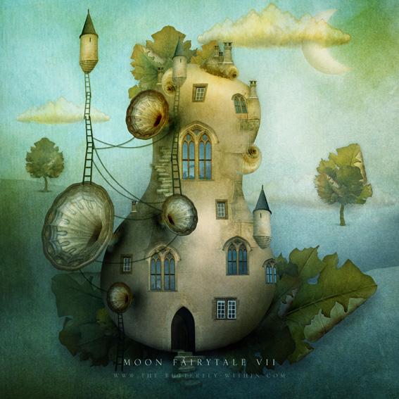 Moon fairytale VII by agnieszkaszuba