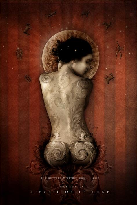 The awakening of the Moon by elfka