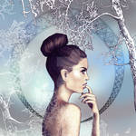 Artnouveau Winter by alenara80
