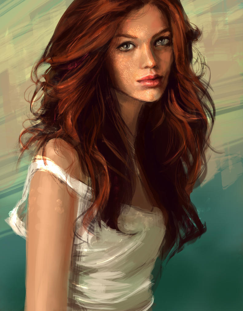 Red head by alenara80