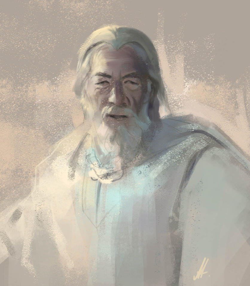 Gandalf by alenara80