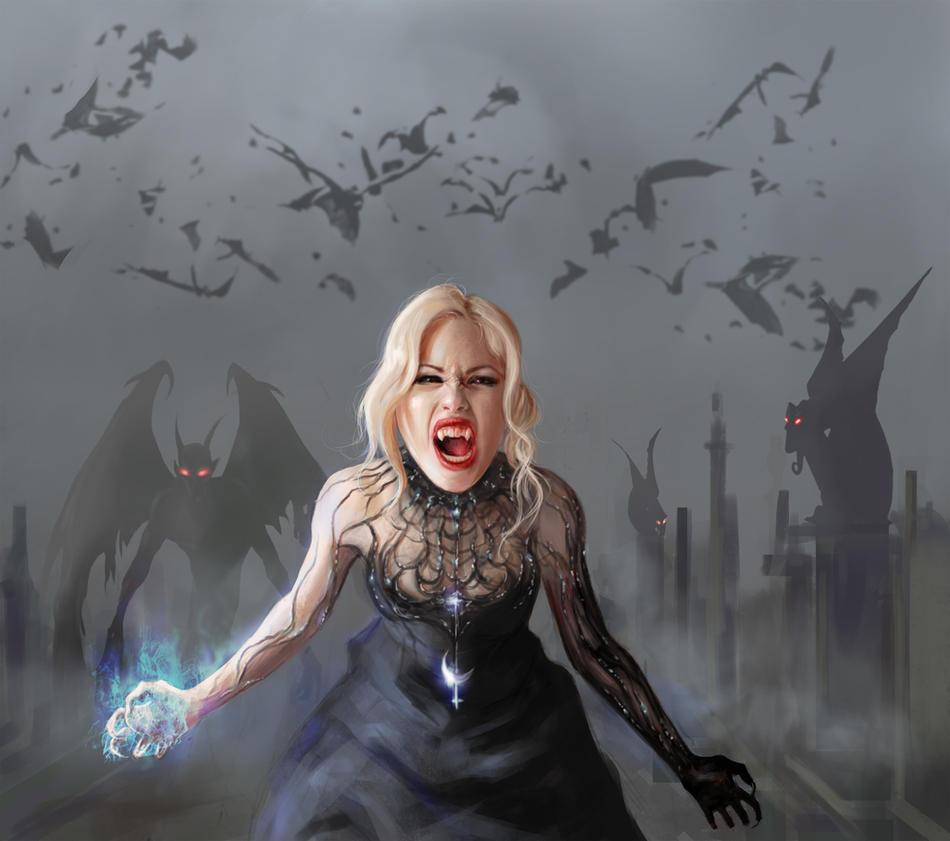 Vampire Queen Lilith By Alenara80 On DeviantArt