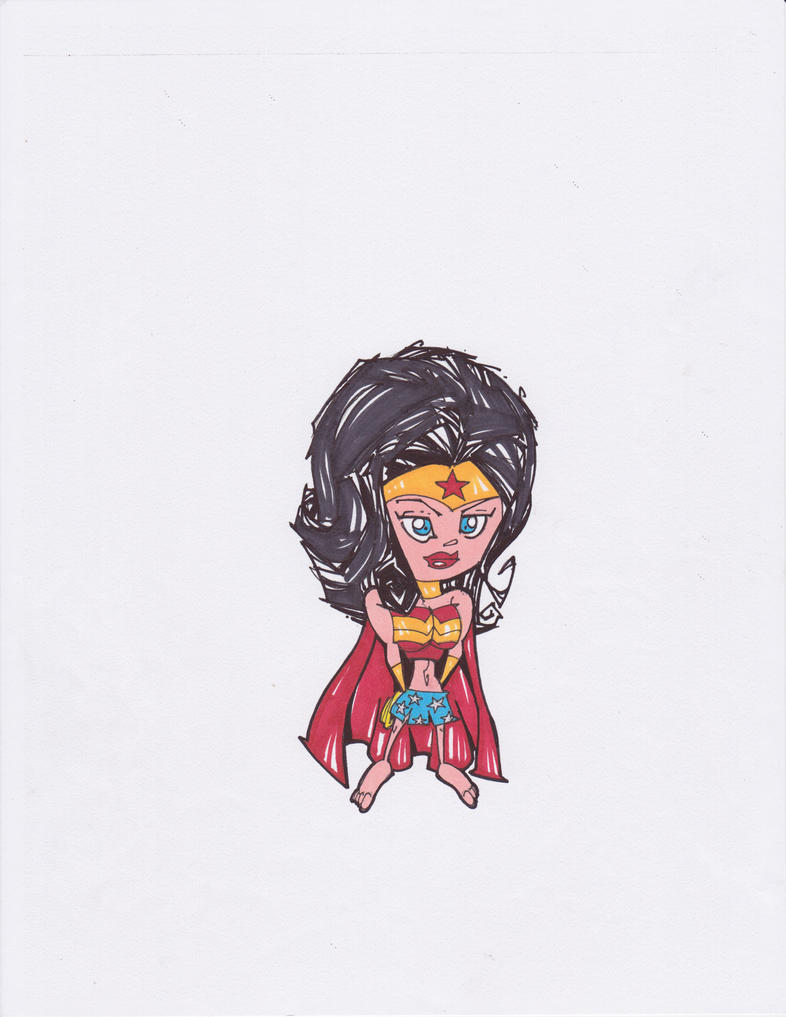 DC SUPER HEROES: WONDER WOMAN by hclix