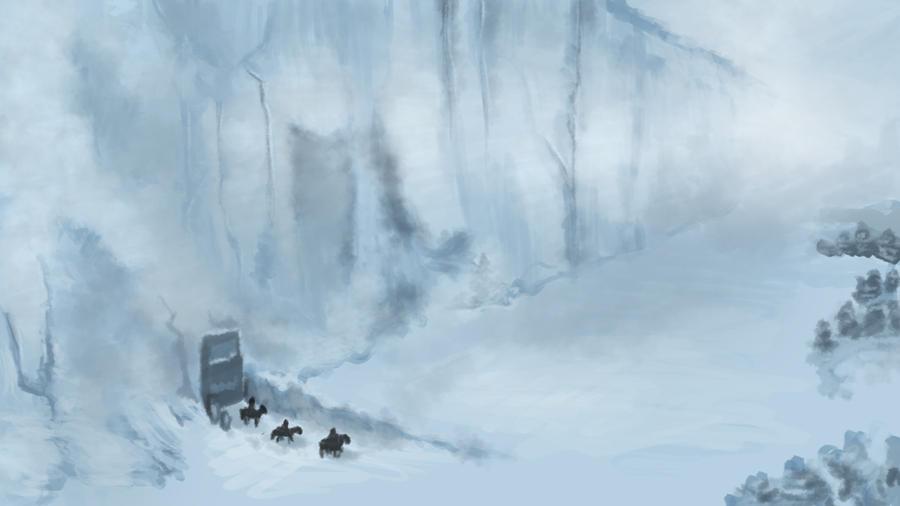 Game Of Thrones Winter Wall By MissMeowsikins