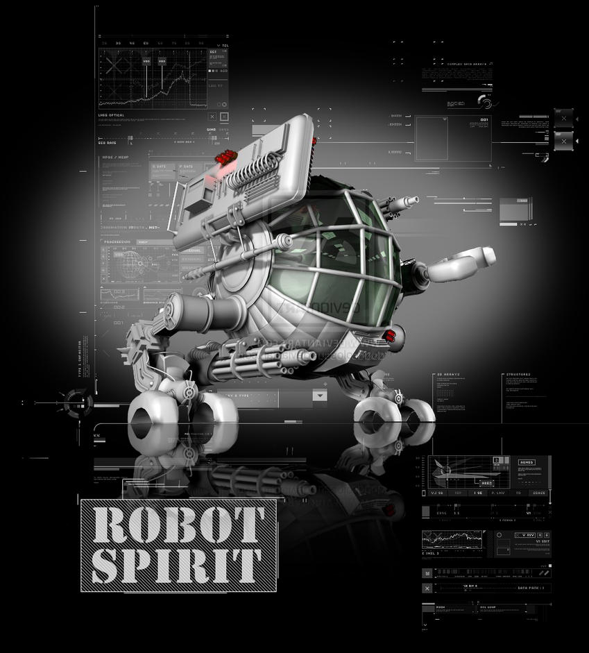 Robot Spirit by doudcolossus