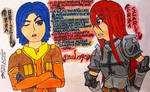 Ezra And Erza... Confront By Their Names XD by clubpenguin1