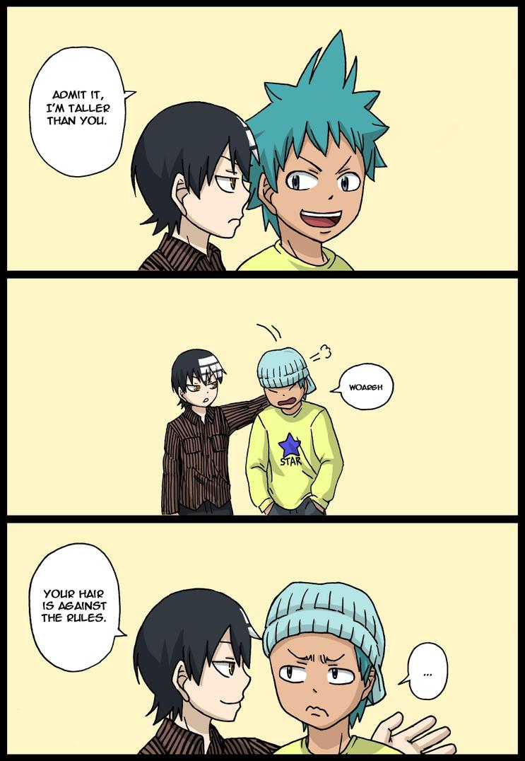 Height difference by KaburagiKotetsu