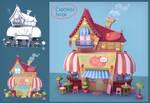 Cupcakes House by Elo-Doudoune