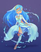 Azura (Aqua) by Elo-Doudoune