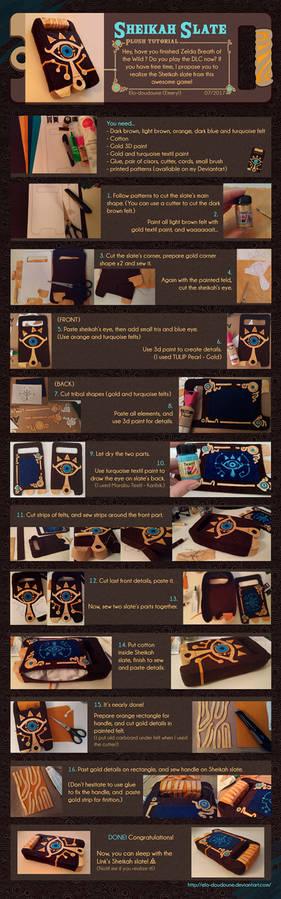 DIY - Sheikah slate