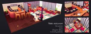 Neko restaurant by Elo-Doudoune