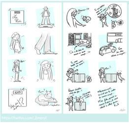 (Twitter) Comic Strips by Elo-Doudoune