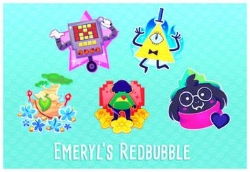 Emeryl's RedBubble by Elo-Doudoune
