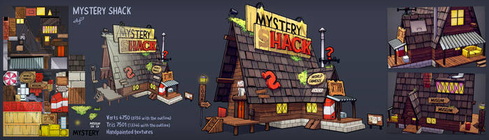 The Mystery Shack by Elo-Doudoune