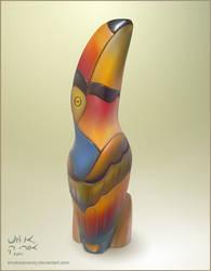 Wooden Toucan Mesh