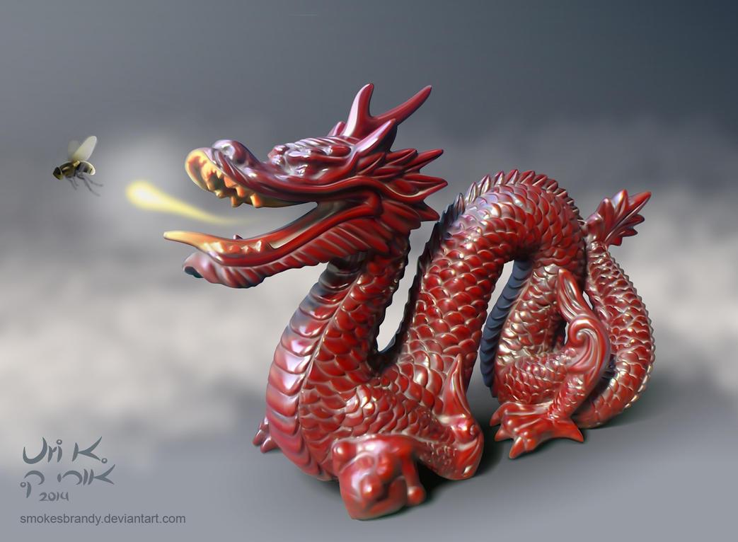 My Fly Fighter Dragon by SmokesBrandy