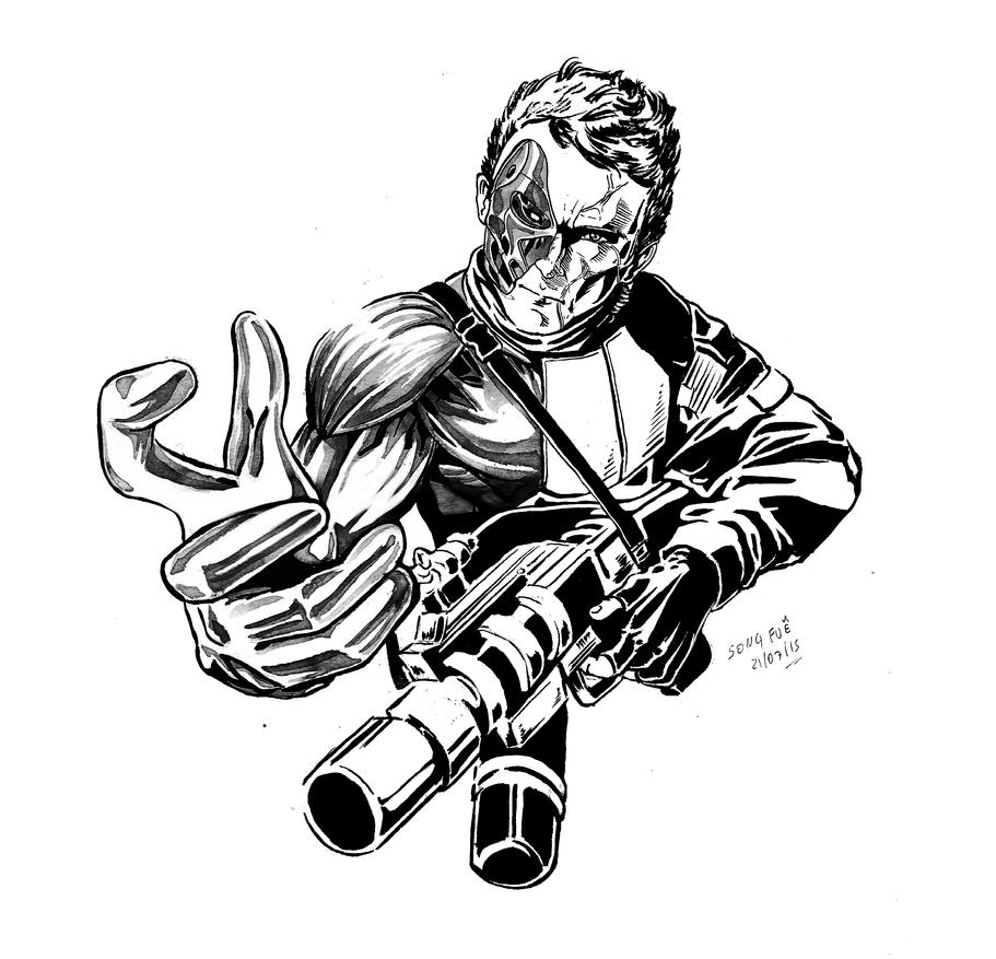 Sketchbook John Connor by Renan-SongFue