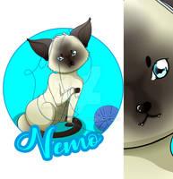 [Comission] Nemo (My Auntie's Cat)