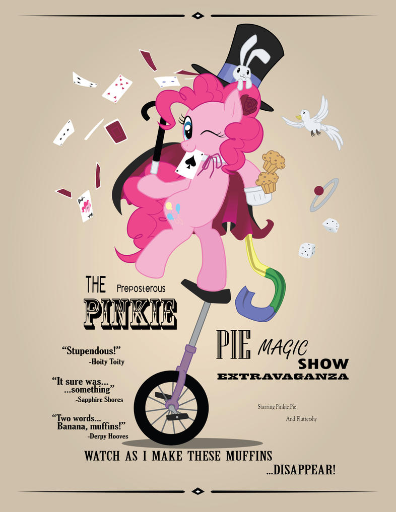 The Great and Powerful... Pinkie by SurgicalArts