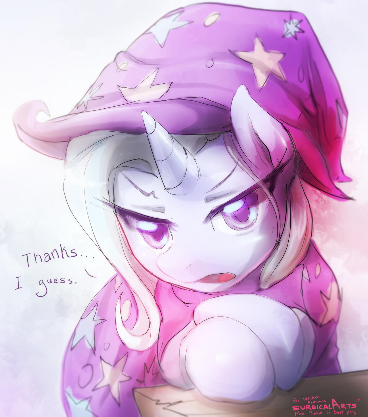 The Great and Tsundere Trixie by SurgicalArts