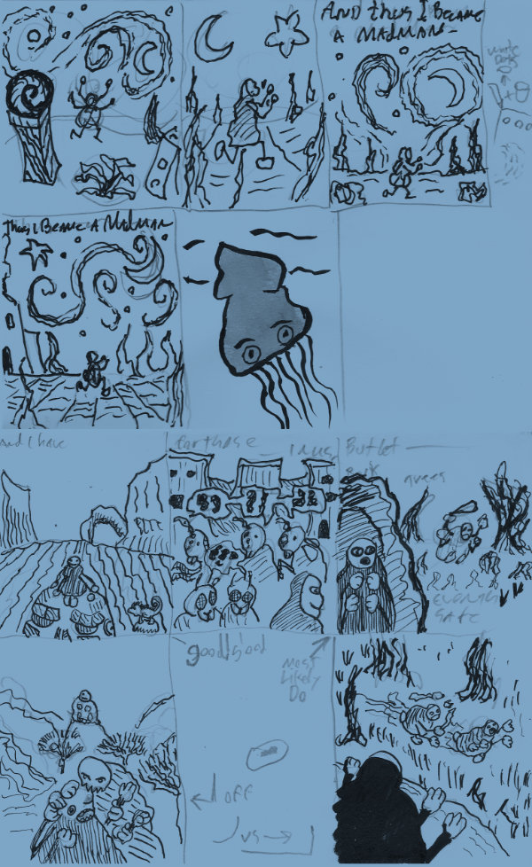 The MadMan sketches by KingNot