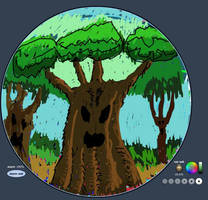 Drawball trees by KingNot