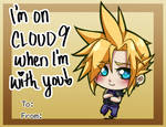Valentines Day Card - Cloud Strife