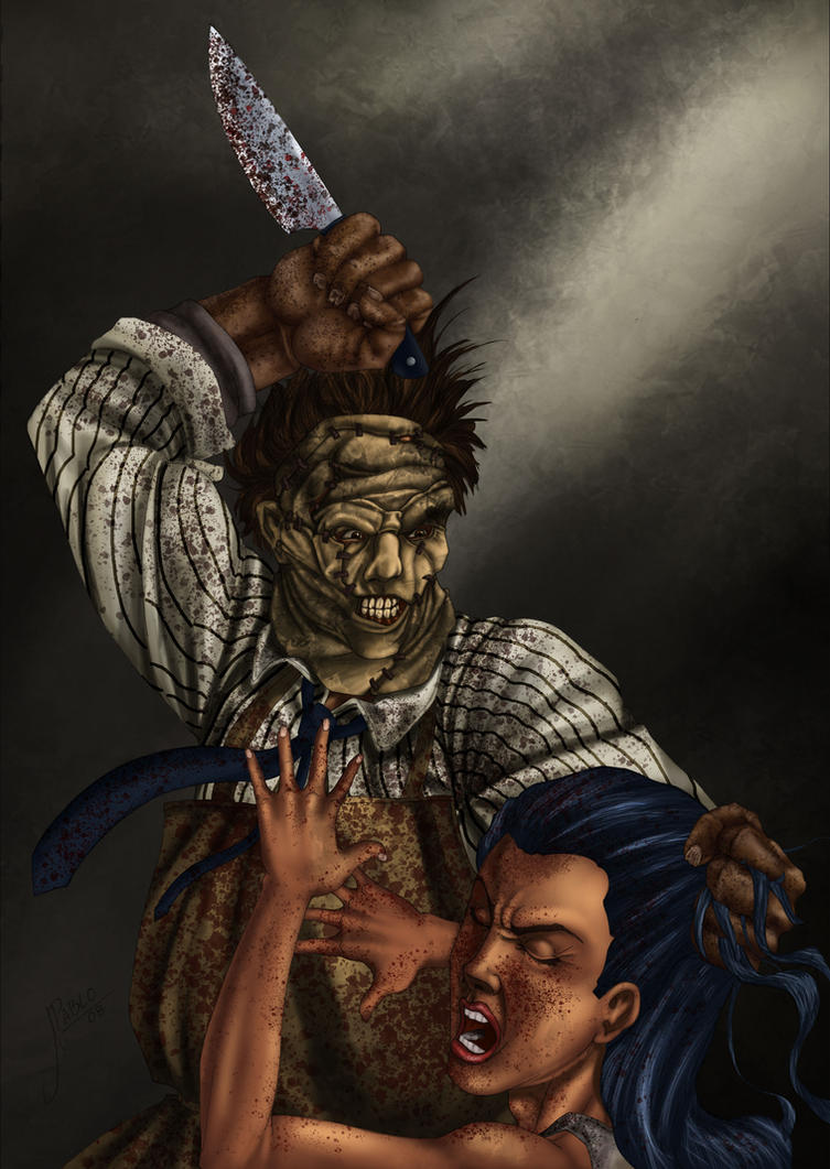 Leatherface finished by RodVill