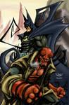 Batman-Hellboy