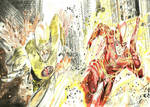Flash vs Flash reverso by Breno Moreira by BrenoMoreira