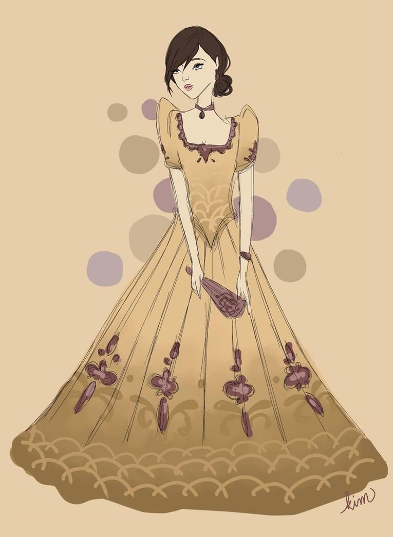 Filipiniana dress by kimpertinent on DeviantArt