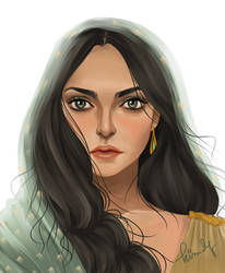 Arianne Martell by kimpertinent