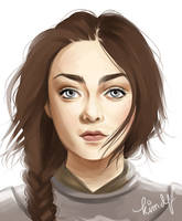Older Arya by kimpertinent