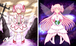Madoka's Bad and Good Photo Set