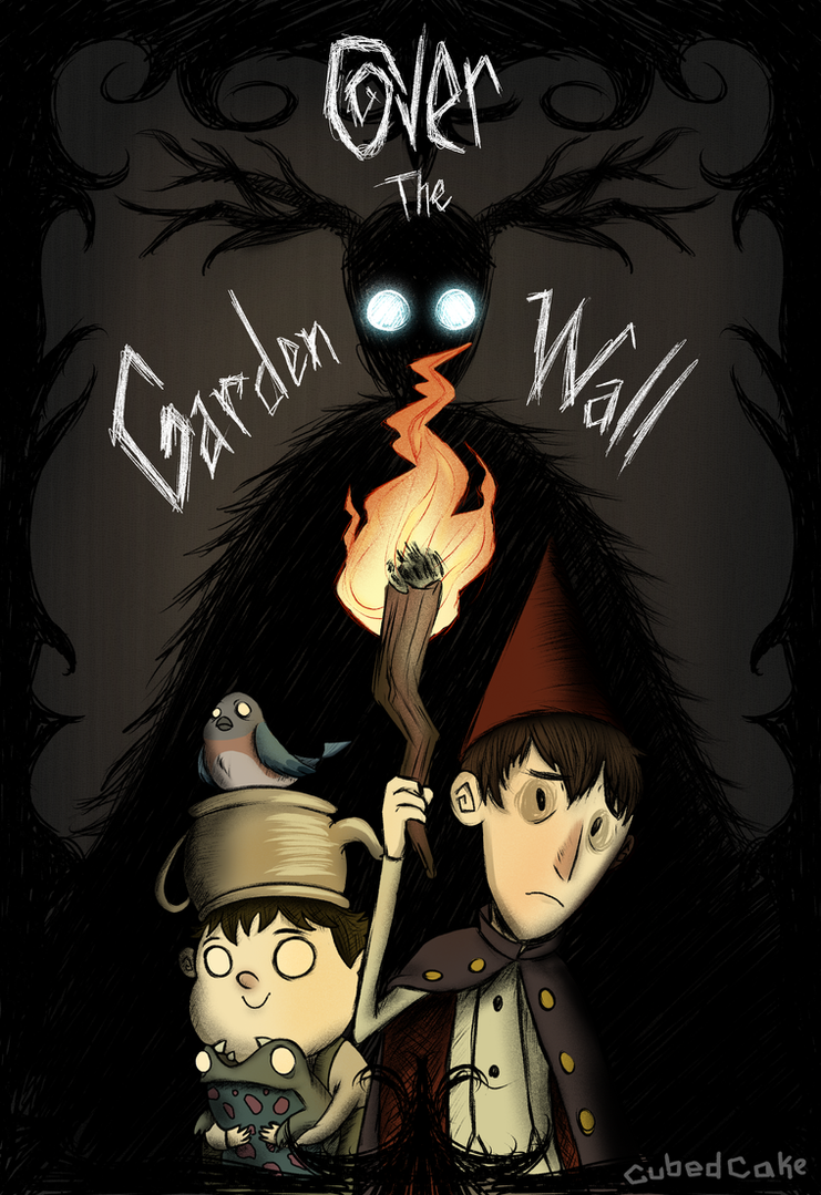 dont go over the garden wall by cubedcake - Over The Garden Wall Poster