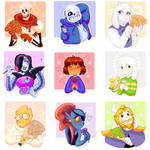 Undertale Rose Collection