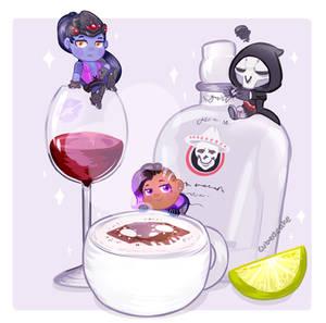 Overwatch Food Set - Talon's Beverages