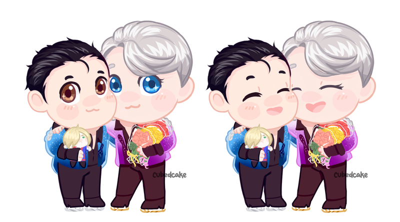 Life and Love - Yuri On Ice by CubedCake