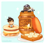 Overwatch Food Set - Peanut Butter?