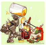 Overwatch Food Set - Drink Up! by CubedCake