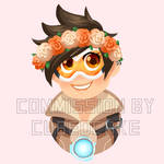 Commission: Flower Crown Tracer
