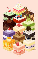 Cubed Cakes by CubedCake